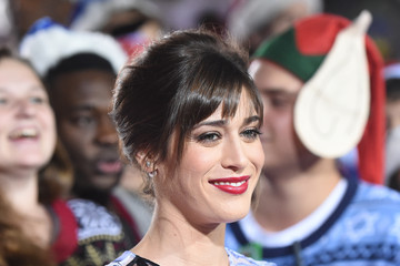 """Lizzy Caplan Premiere Of Columbia Pictures' """"The Night Before"""" - Arrivals"""