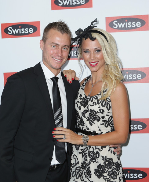 Lleyton Hewitt and Bec Hewitt - Celebrities Attend Emirates Stakes Day