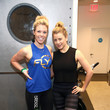 Lo Bosworth Steaz Launches Cactus Water at Flywheel's Chelsea Studio, NYC