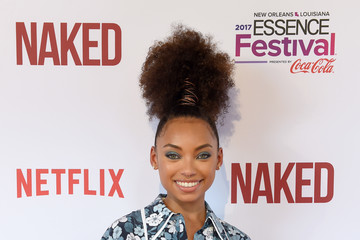 Logan Browning Premiere Of Netflix Original Film 'Naked' At The 2017 Essence Festival