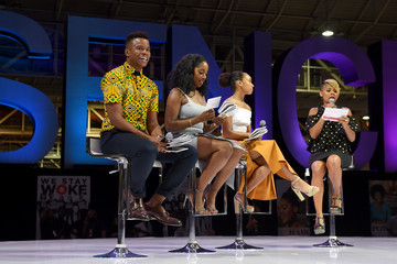 Logan Browning Netflix At Essence Festival 2017 - Day 1