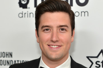 Logan Henderson Inside the Elton John AIDS Foundation Oscars Viewing Party