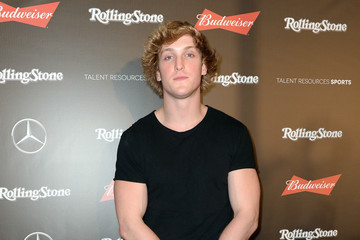 Logan Paul Rolling Stone Live: Houston Presented by Budweiser and Mercedes-Benz. Produced in Partnership With Talent Resources Sports. - Arrivals