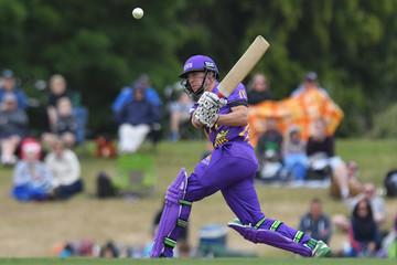 Logan van Beek McDonalds Super Smash T20 -  Canterbury Kings v Knights