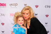 """Eden Wood with her mother Mickie Wood attendsLogo's """"NewNowNext Awards"""" 2012 at Avalon on April 5, 2012 in Hollywood, California."""