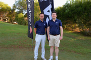 Ben Goodey and Robert Jones (a) of Manor of Groves Golf Club on the 1st tee during the Lombard Trophy Final Day One at Pestana Vila Sol Golf Resort on September 22, 2016 in Quarteira, Portugal.