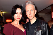 Betty Bachz (L) and Jefferson Hack (R) attend the London Show Rooms 10th anniversary party as part of the Paris Fashion Week Womenswear Fall/Winter 2018/2019 at The Hoxton Paris on March 4, 2018 in Paris, France.