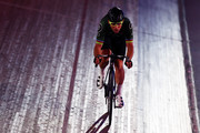 Mark Cavendish of Great Britain in action on day one of the London Six Day Race at the Lee Valley Velopark Velodrome on October 24, 2017 in London, England.