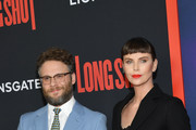Charlize Theron and Seth Rogen Photos Photo
