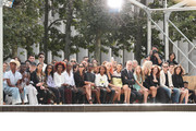 A view of the front row during the Longchamp SS20 Runway Show on September 07, 2019 in New York City.