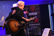 Recording Artist/Producer Don Was and Kris Kristofferson attend A Look Into The Life & Songs Of Kris Kristofferson on The Steps at WME on October 26, 2017 in Nashville, Tennessee.