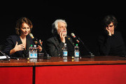 Actress Violante Placido, director Michele Placido and actor Luca Argentero attend 'The Lookout' Press Conference during the 7th Rome Film Festival at the Auditorium Parco Della Musica on November 12, 2012 in Rome, Italy