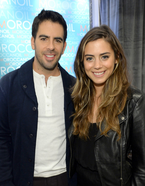 Eli Roth with sexy, extrovert, passionate, Fiancée Lorenza Izzo