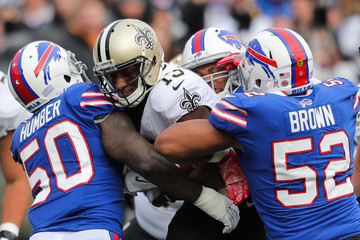 Lorenzo Alexander New Orleans Saints v Buffalo Bills