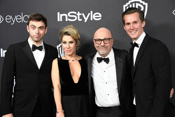 Lorenzo Soria Lilla Soria Warner Bros. Pictures and InStyle Host 18th Annual Post-Golden Globes Party - Arrivals