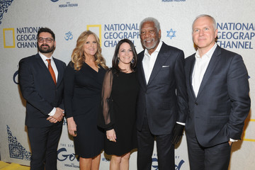 Lori McCreary James Younger National Geographic Channel's World Premiere of 'The Story of God' With Morgan Freeman