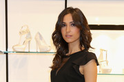 Caterina Balivo attends the Loriblu Cocktail Party as part of Milan Fashion Week Womenswear Autumn/Winter 2014 on February 20, 2014 in Milan, Italy.