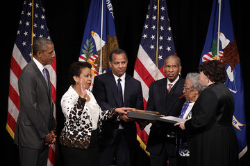 Lorine Lynch Formal Investiture Ceremony Held for Attorney General Loretta Lynch