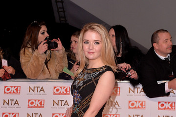 Lorna Fitzgerald Arrivals at the National Television Awards