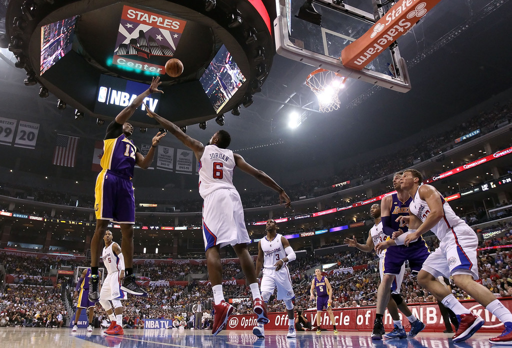 los angeles clippers los angeles lakers