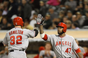 Howie Kendrick and Josh Hamilton Photos Photo