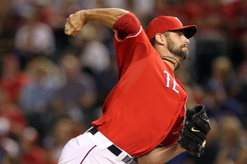 Dustin Nippert Los Angeles Angels of Anaheim v Texas Rangers