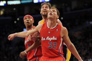 Blake Griffin Los Angeles Clippers v Los Angeles Lakers