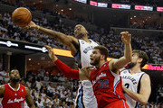 Marreese Speights and Marc Gasol Photos Photo