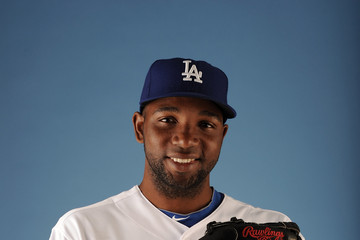 Wilkin De La Rosa Los Angeles Dodgers Photo Day