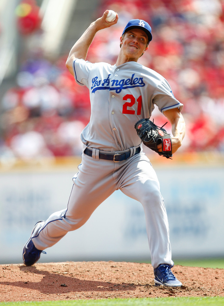 Zack Greinke Photos Photos Los Angeles Dodgers V
