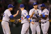 Yasiel Puig Corey Seager Photos Photo