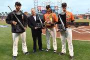 Madison Bumgarner and Buster Posey Photos Photo