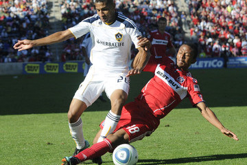 Mike Banner Los Angeles Galaxy v Chicago Fire