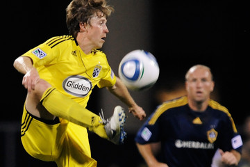 Clint Mathis Los Angeles Galaxy v Columbus Crew