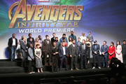 Cast & Crew of 'Avengers: Infinity War' attend the Los Angeles Global Premiere for Marvel Studios' Avengers: Infinity War on April 23, 2018 in Hollywood, California.