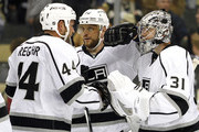 Marian Gaborik and Martin Jones Photos Photo