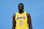 Luol Deng #9 of the Los Angeles Lakers poses during media day September 25, 2017, in El Segundo, California. NOTE TO USER: User expressly acknowledges and agrees that, by downloading and/or using this photograph, user is consenting to the terms and conditions of the Getty Images License Agreement.