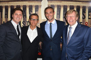 (L-R) Filmmakers Ben Cotner, HBO President of Programming Michael Lombardo, filmmaker Ryan White and lawyer Ted Olson attend  arrives at the Los Angeles Premiere Of HBO Documentary 'The Case Against 8' at Directors Guild Of America on June 3, 2014 in Los Angeles, California.