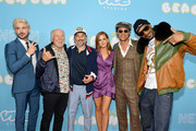 """(L-R) Zac Efron, Jimmy Buffett, Harmony Korine, Isla Fisher, Matthew McConaughey, and Snoop Dogg attend the premiere of Neon and Vice Studio's """"The Beach Bum"""" at ArcLight Hollywood on March 28, 2019 in Hollywood, California."""