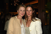 Mamie Gummer (L) and Grace Gummer attend the The Los Angeles Premiere after party Of WILDLIFE on October 9, 2018 in Los Angeles, California.