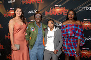 "(L-R) Stefanie Dolson, Essence Carson, Renee Montgomery, and Chiney Ogwumike attend the Los Angeles World Premiere of Marvel Studios' ""Captain Marvel"" at Dolby Theatre on March 4, 2019 in Hollywood, California."