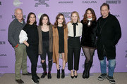 """Reed Birney, Miriam Shor, Molly Brown, Oona Laurence, Amy Ryan, Lola Kirke, and Dean Winters attend the Netflix """"Lost Girls"""" Premiere at Eccles Center Theatre on January 28, 2020 in Park City, Utah."""