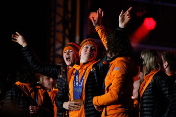 Lotte van Beek Welcome Home Reception Held For Dutch Winter Olympic Athletes