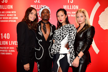 Lottie Moss Montblanc: (Red) Launch Event Cocktail At The Boutique