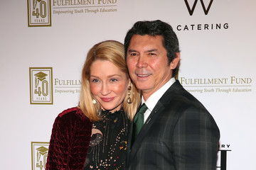 Lou Diamond Phillips Yvonne Boismier Phillips A Legacy Of Changing Lives Presented By The Fulfillment Fund - Arrivals