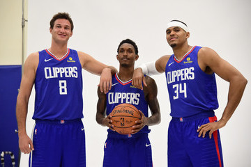 Lou Williams Los Angeles Clippers Media Day