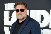 """Russel Crowe attends """"The Loudest Voice"""" New York Premiere at Paris Theatre on June 24, 2019 in New York City."""