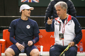 Louis Cayer Canada v GB: Davis Cup by BNP Paribas World Group First Round - Day 2
