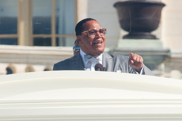 Louis Farrakhan Million Man March Holds 20th Anniversary March in D.C.