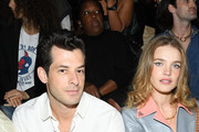 Mark Ronson and Natalia Vodianova attend the Louis Vuitton Womenswear Spring/Summer 2020 show as part of Paris Fashion Week on October 01, 2019 in Paris, France.